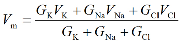 Chord conductance equation